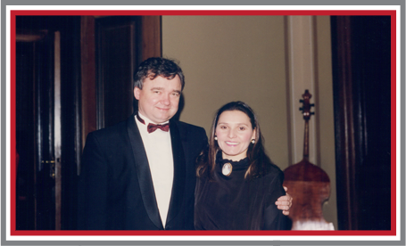 Oldrich Viček and Lynn