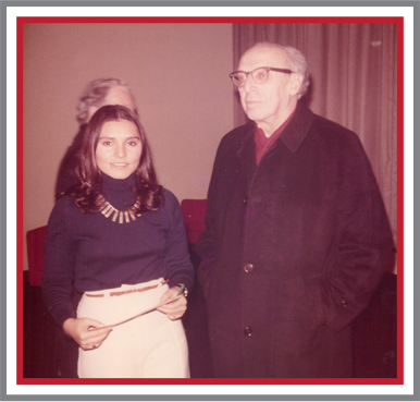Lynn and Aaron Copland